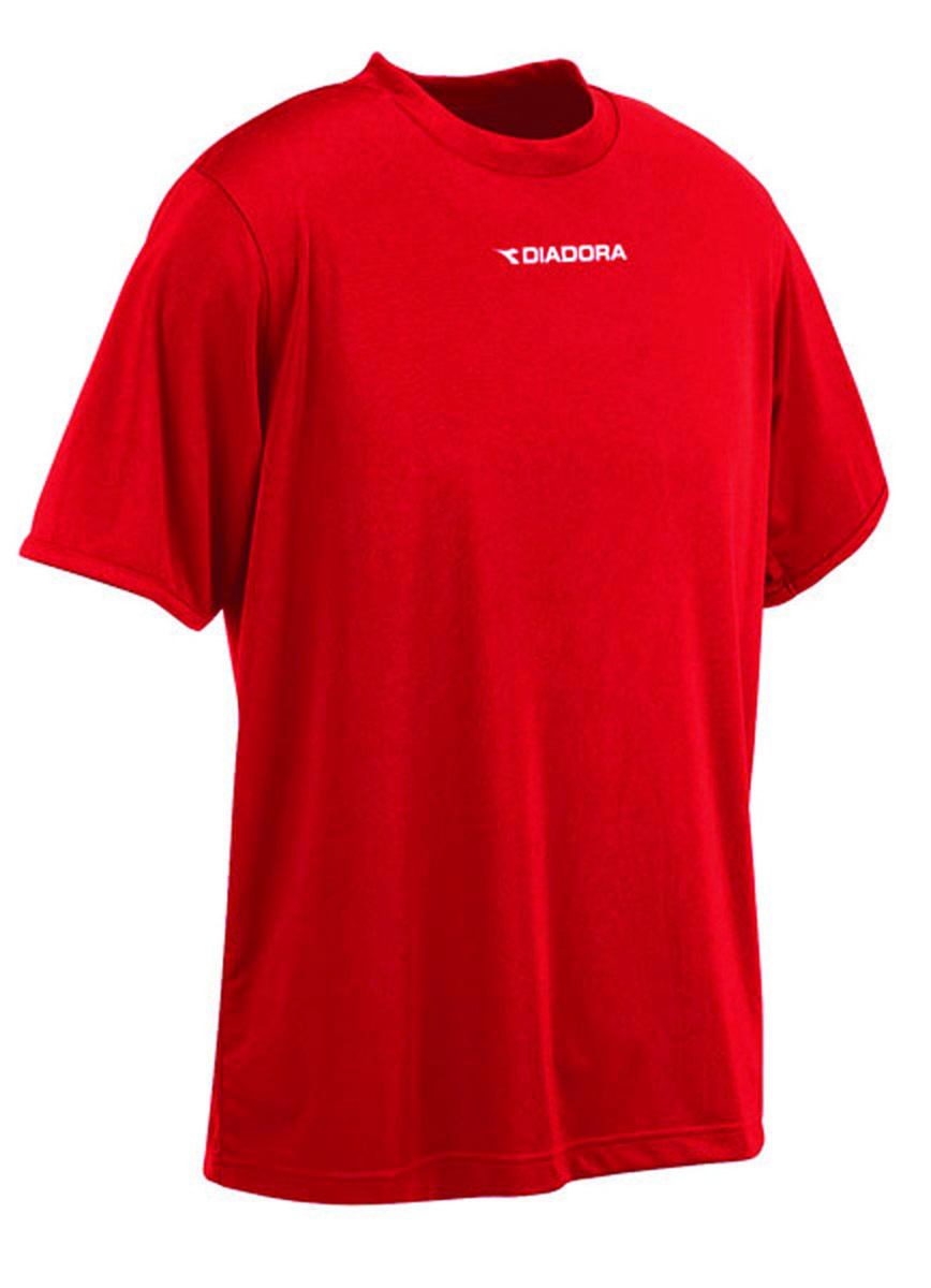 Diadora Sfida soccer shirt in red, by Code Four Athletics