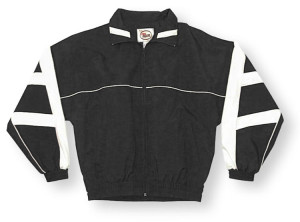 Normandy jacket in black/white