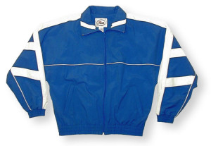 Normandy jacket in royal/white