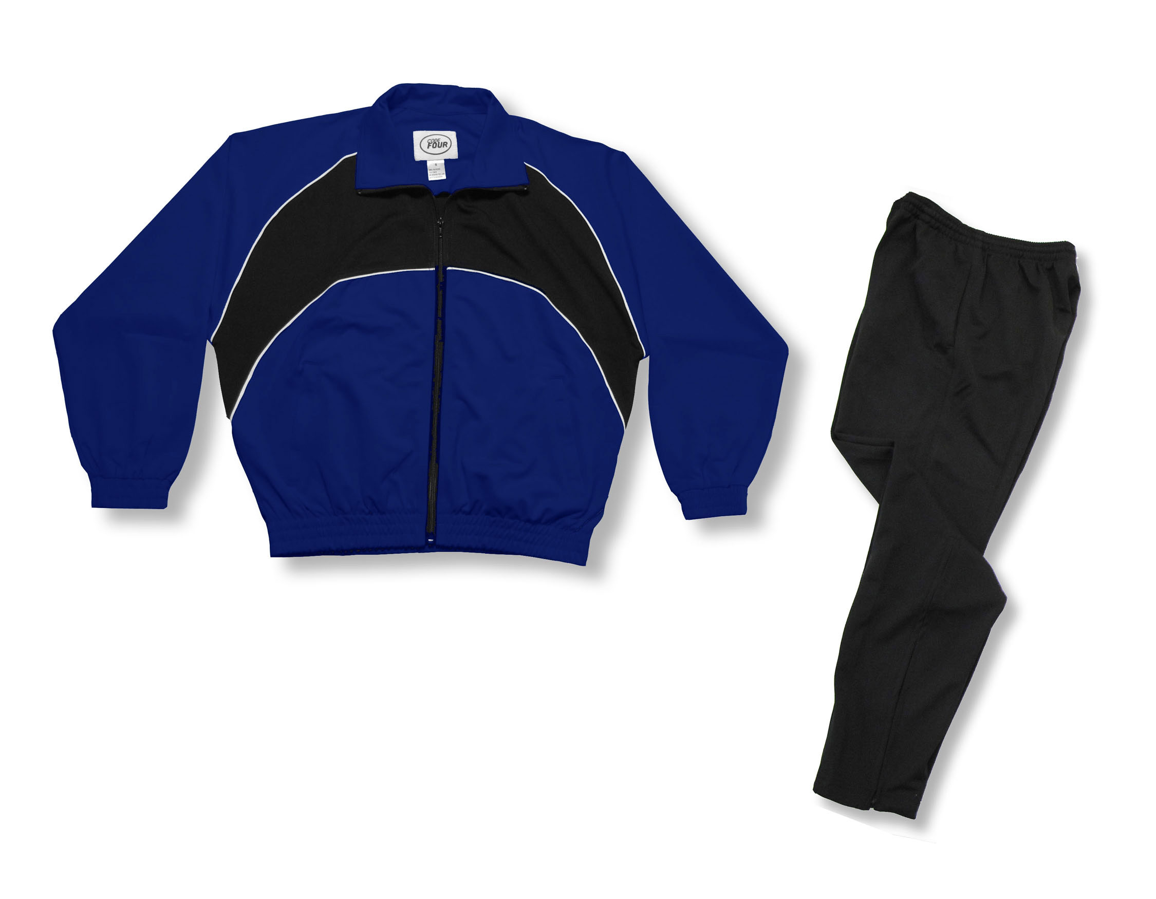 Crossfire Primo soccer warmup set in navy by Code Four Athletics