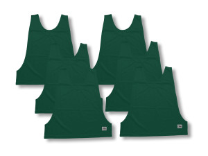 Soccer pinnies 6-pk in forest by Code Four Athletics