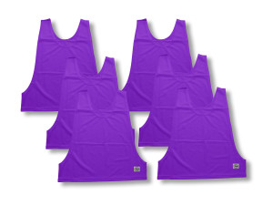 Soccer pennies 6-pk by Code Four Athletics in purple