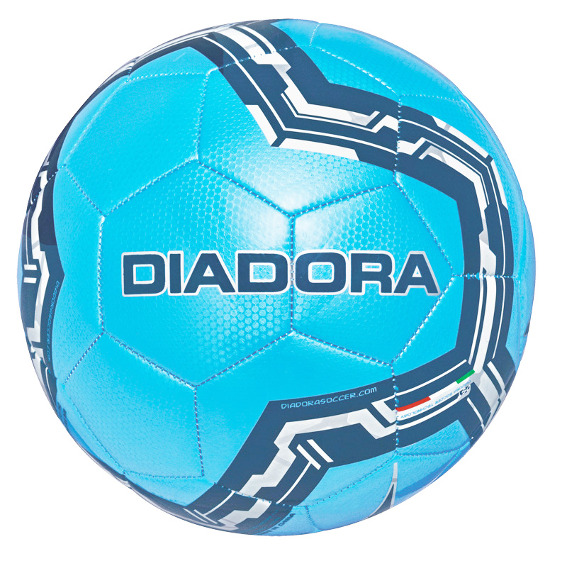 Diadora Lido soccer ball in sky by Code Four Athletics