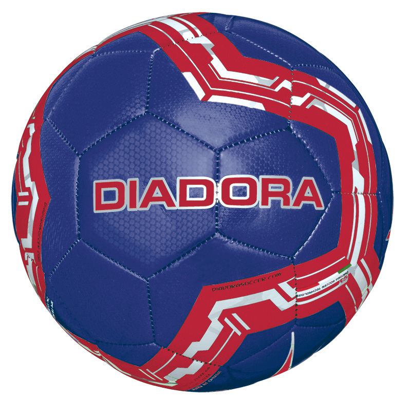 Diadora Lido soccer ball in navy by Code Four Athletics