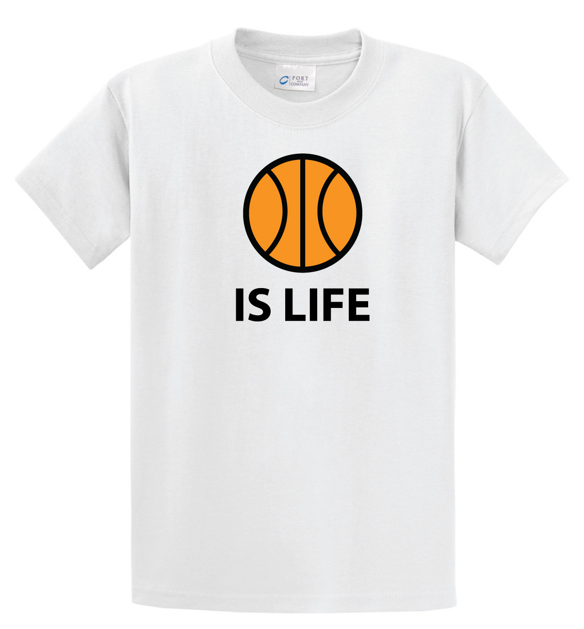 Ball Is Life T-shirt (Basketball Edition) by Code Four Athletics