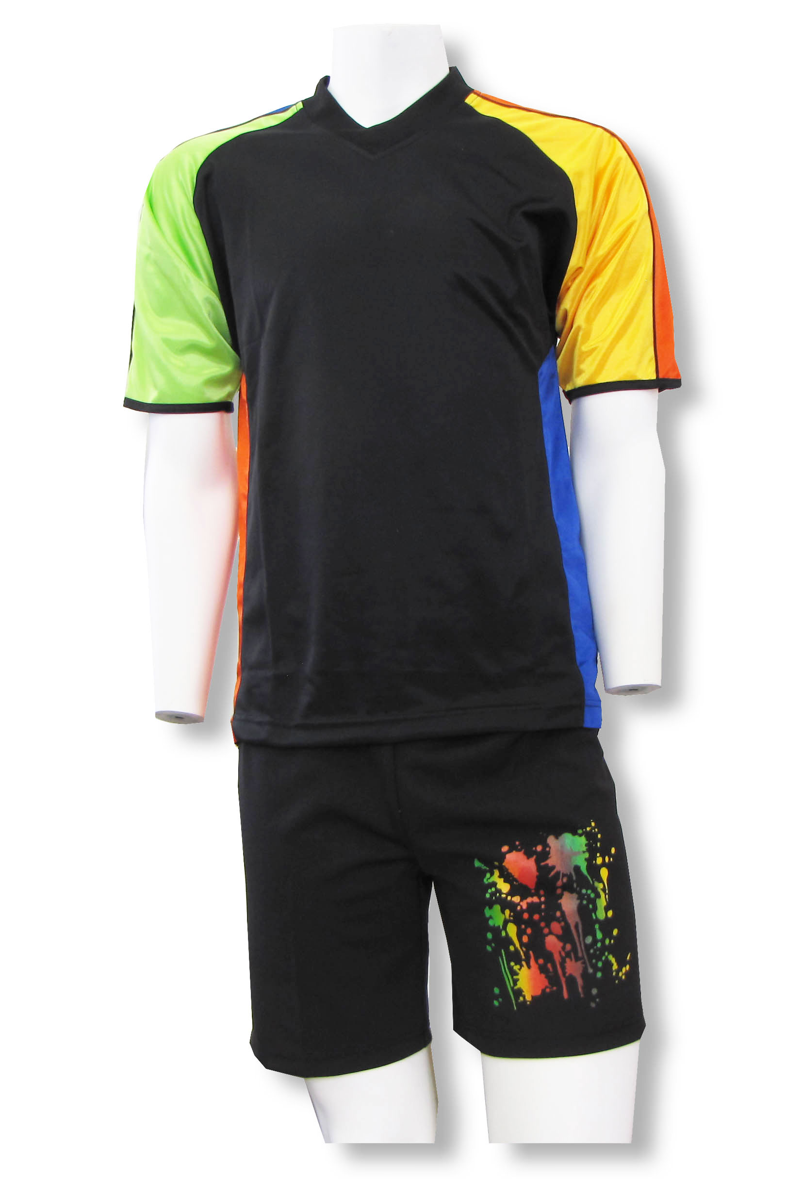 Blast short sleeve soccer goalie jersey-shorts set by Code Four Athletics