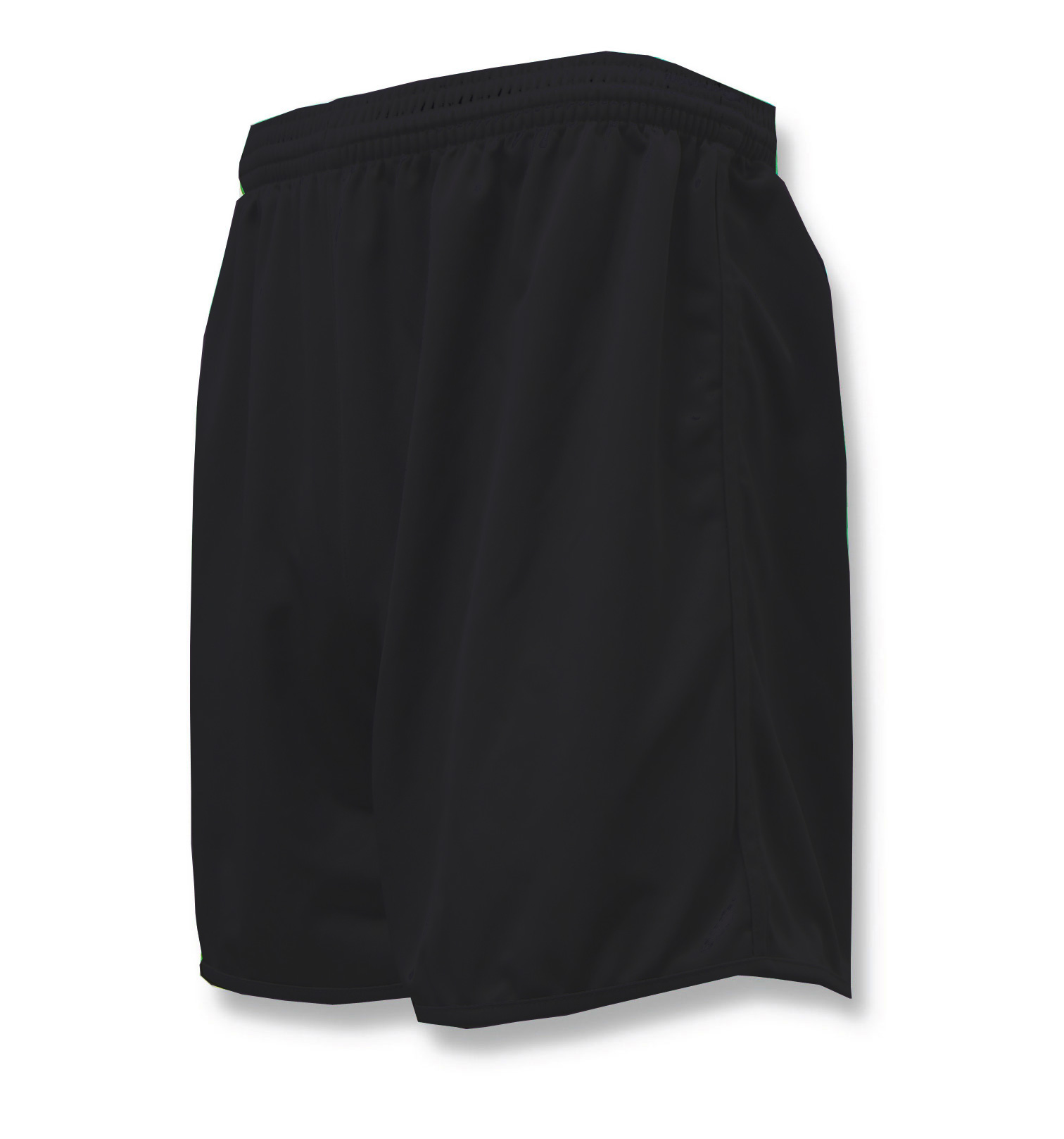 Bravo soccer shorts in black by Code Four Athletics
