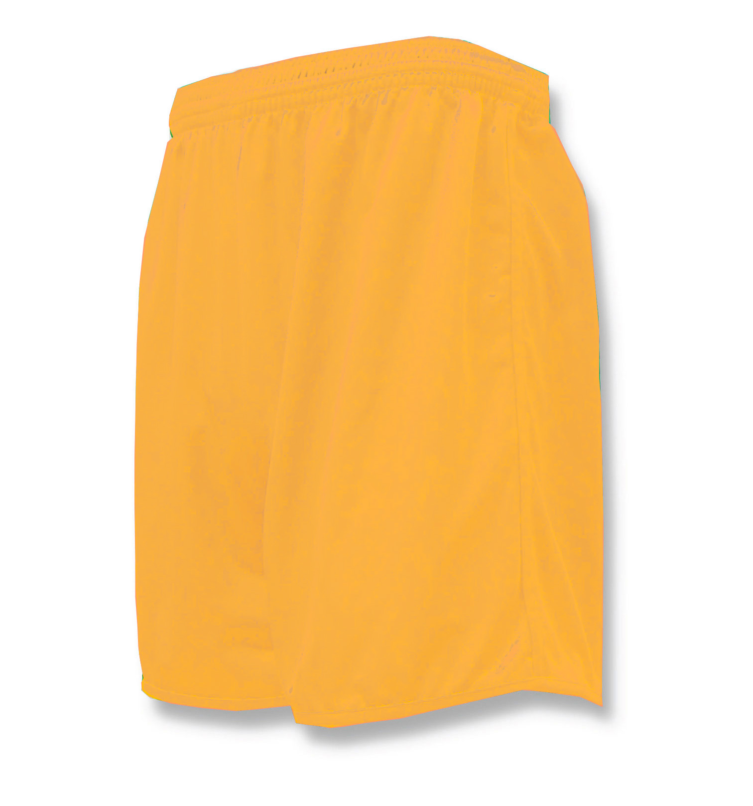 Bravo soccer shorts in gold by Code Four Athletics