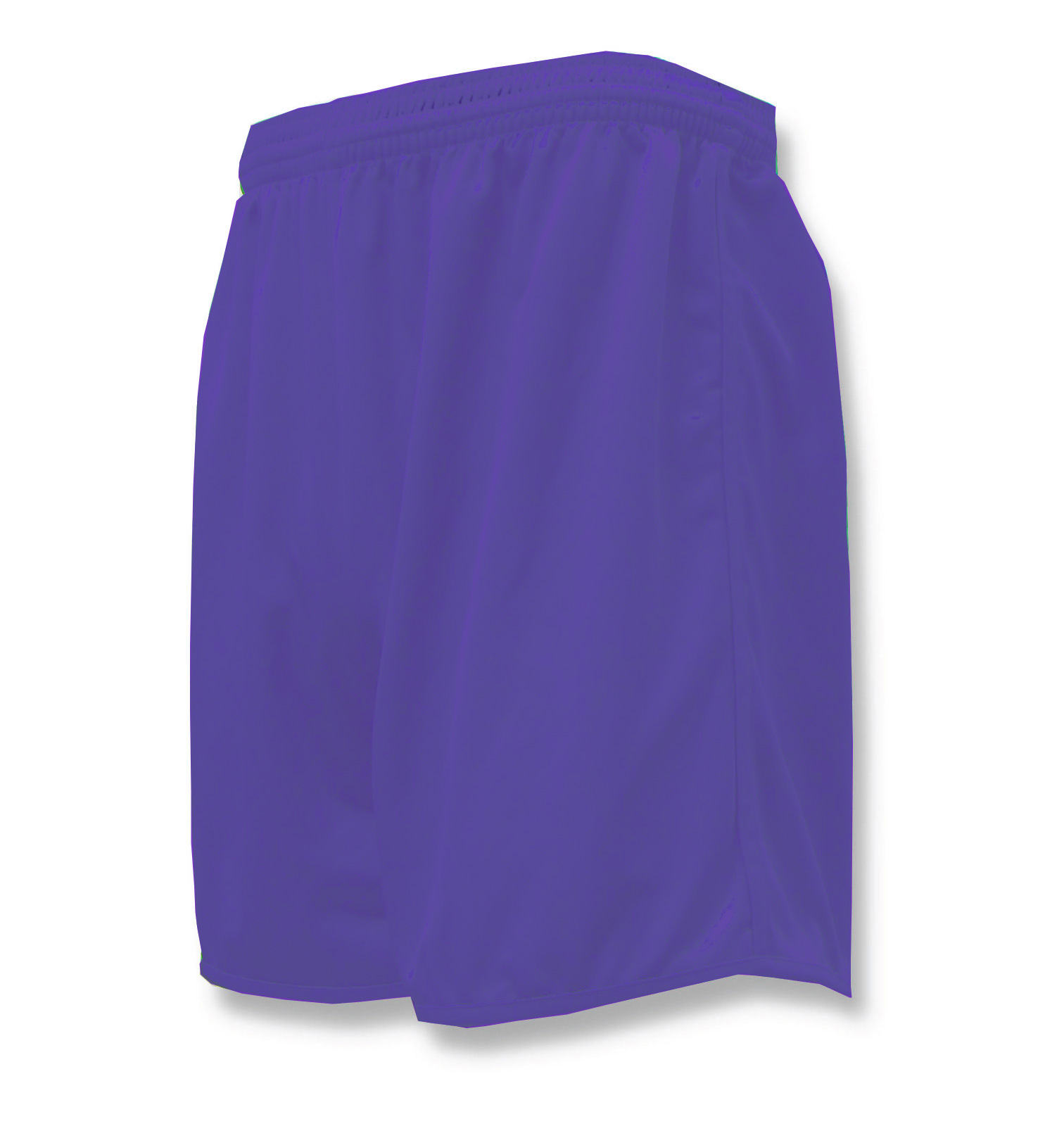 Bravo soccer shorts in purple by Code Four Athletics