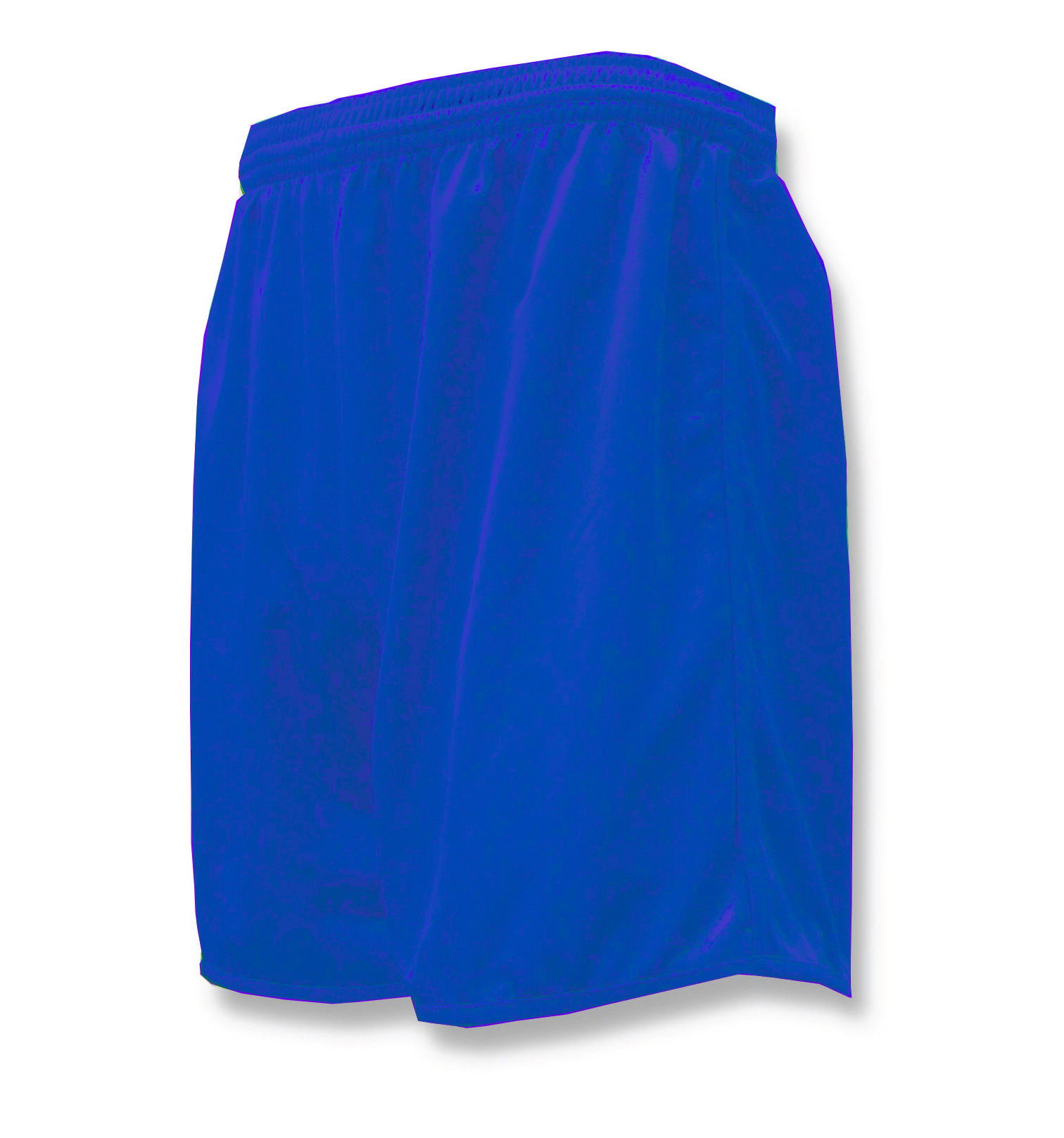 Bravo soccer shorts in royal by Code Four Athletics