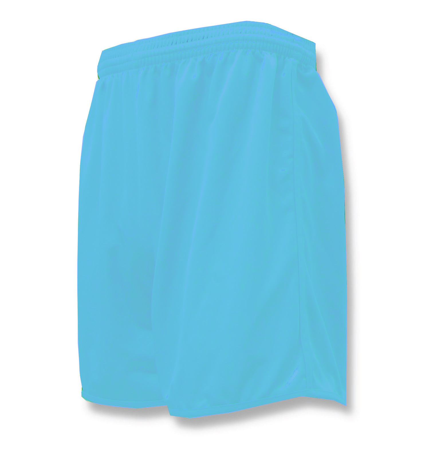 Bravo soccer shorts in sky blue by Code Four Athletics