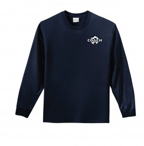COACH-shirtls-navy