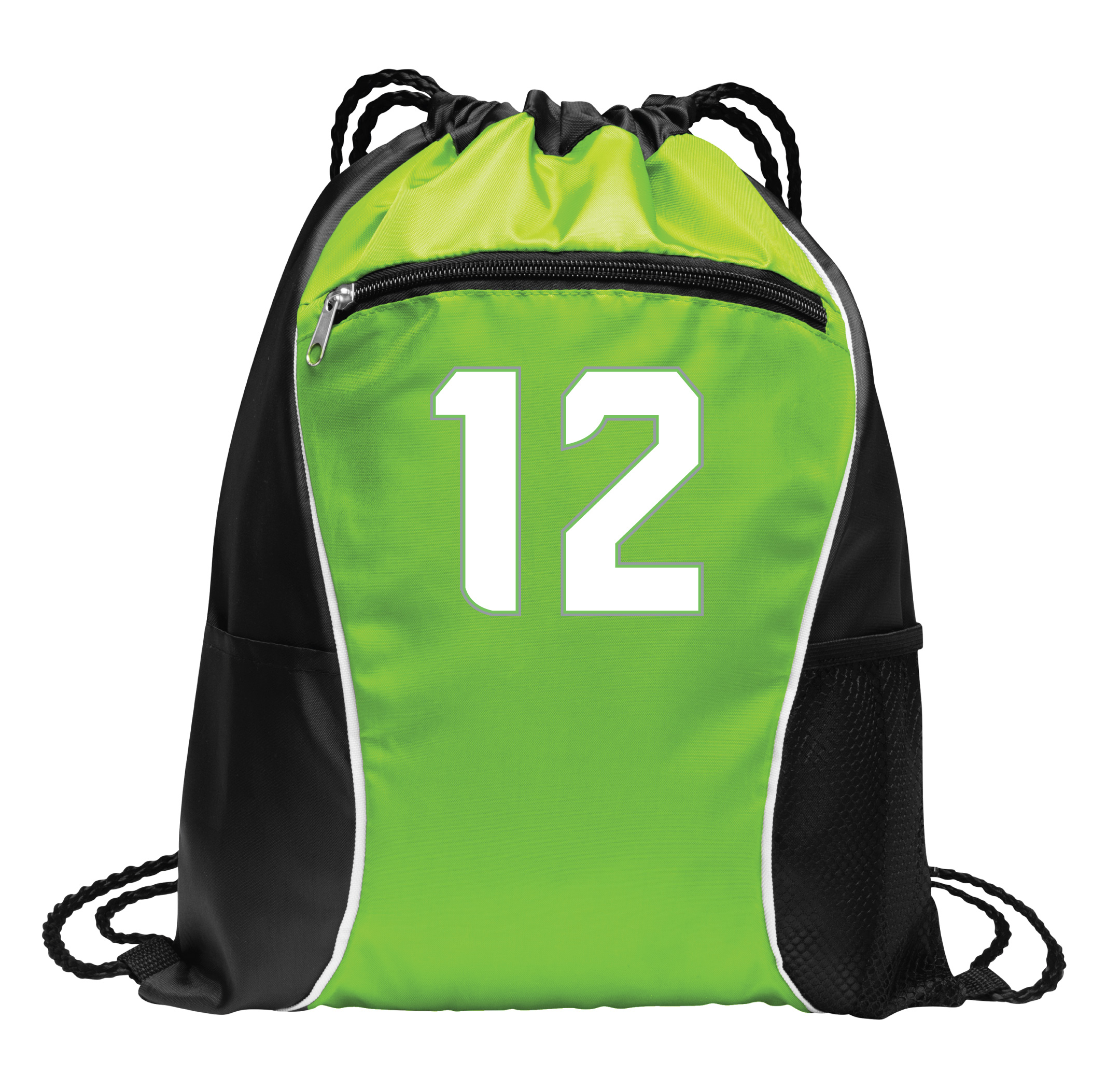 Seattle Seahawks #12 cinch bag by Code Four Athletics