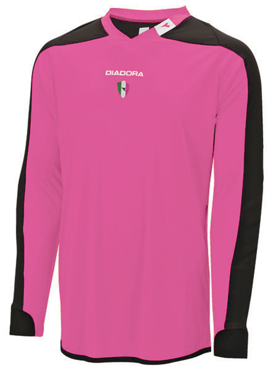 Diadora Enzo keeper jersey in pink by Code Four Athletics