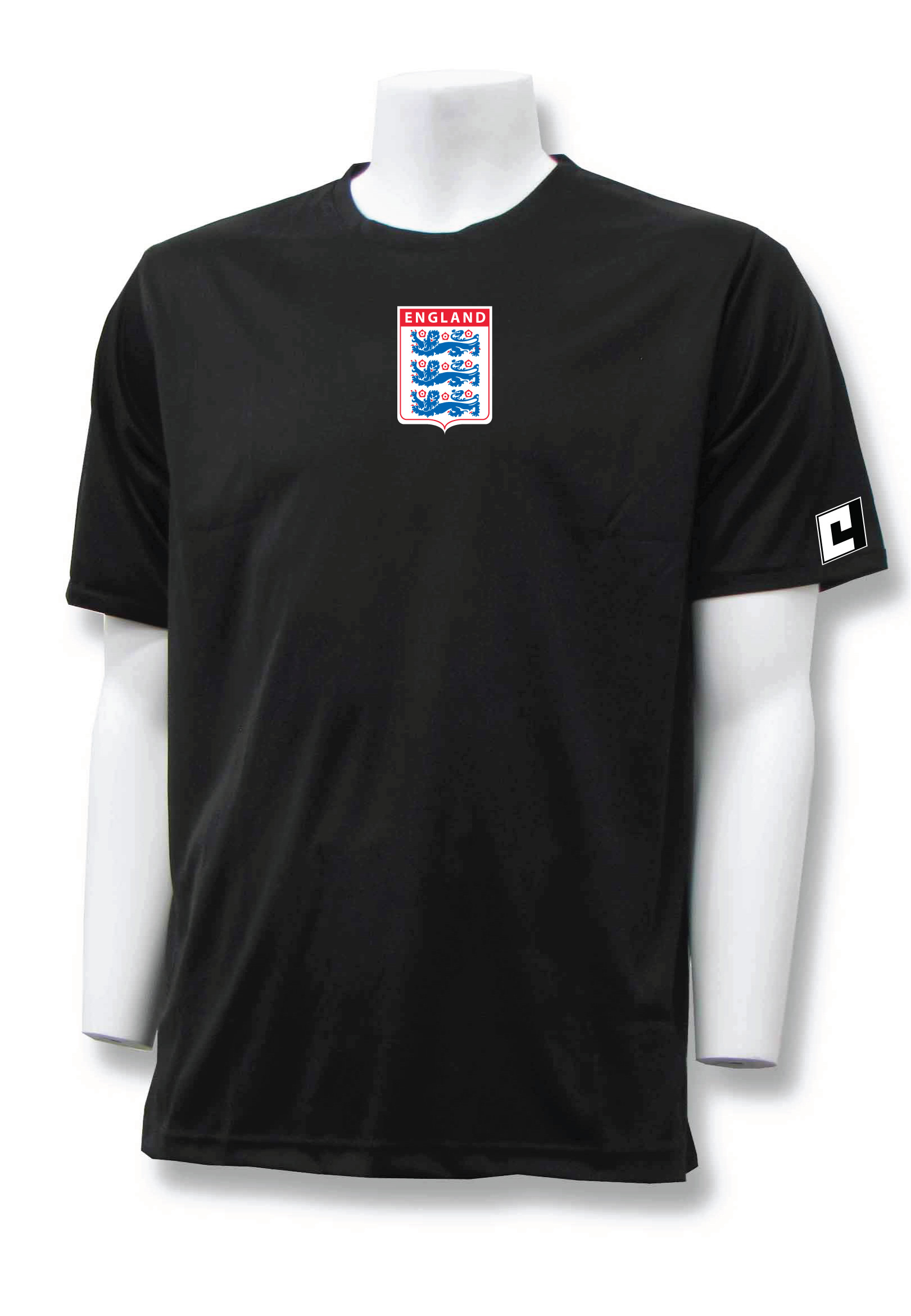 England workout top in black