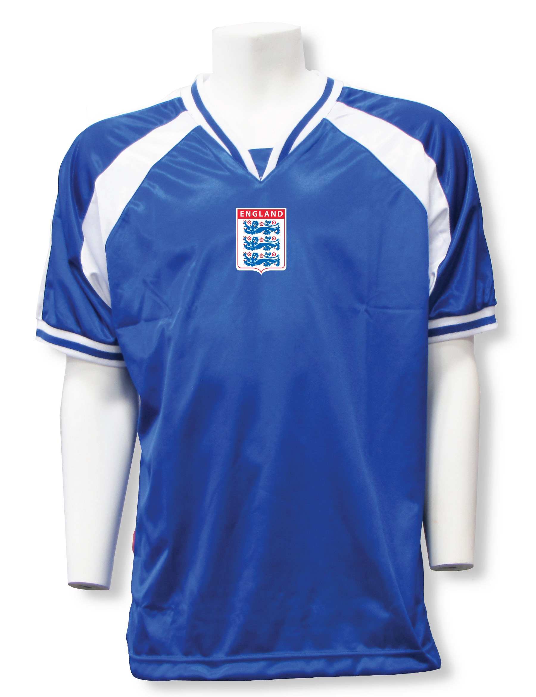 england soccer jersey in royal/white Spitfire