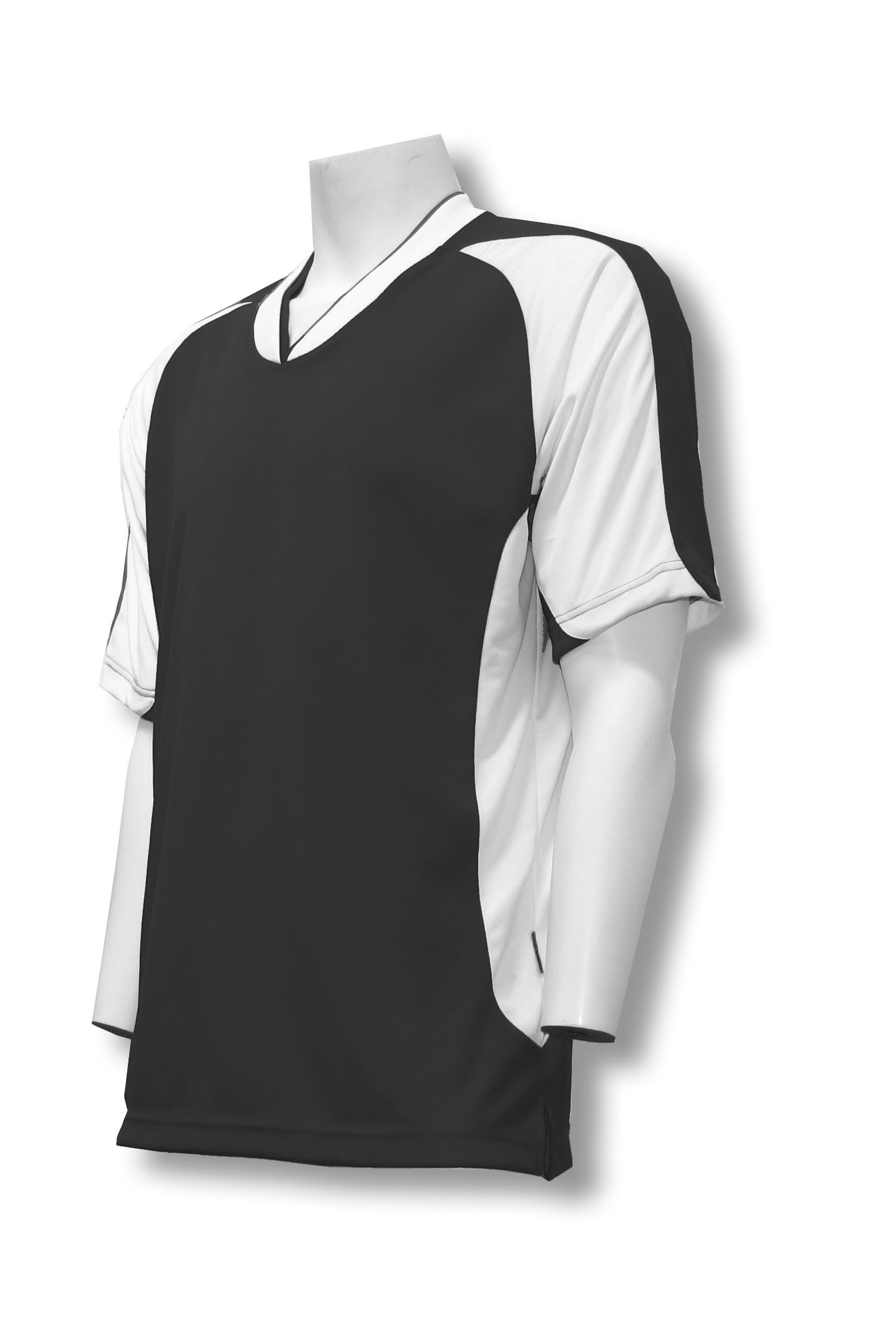 Sweeper / Falcon soccer jersey in black by Code Four Athletics