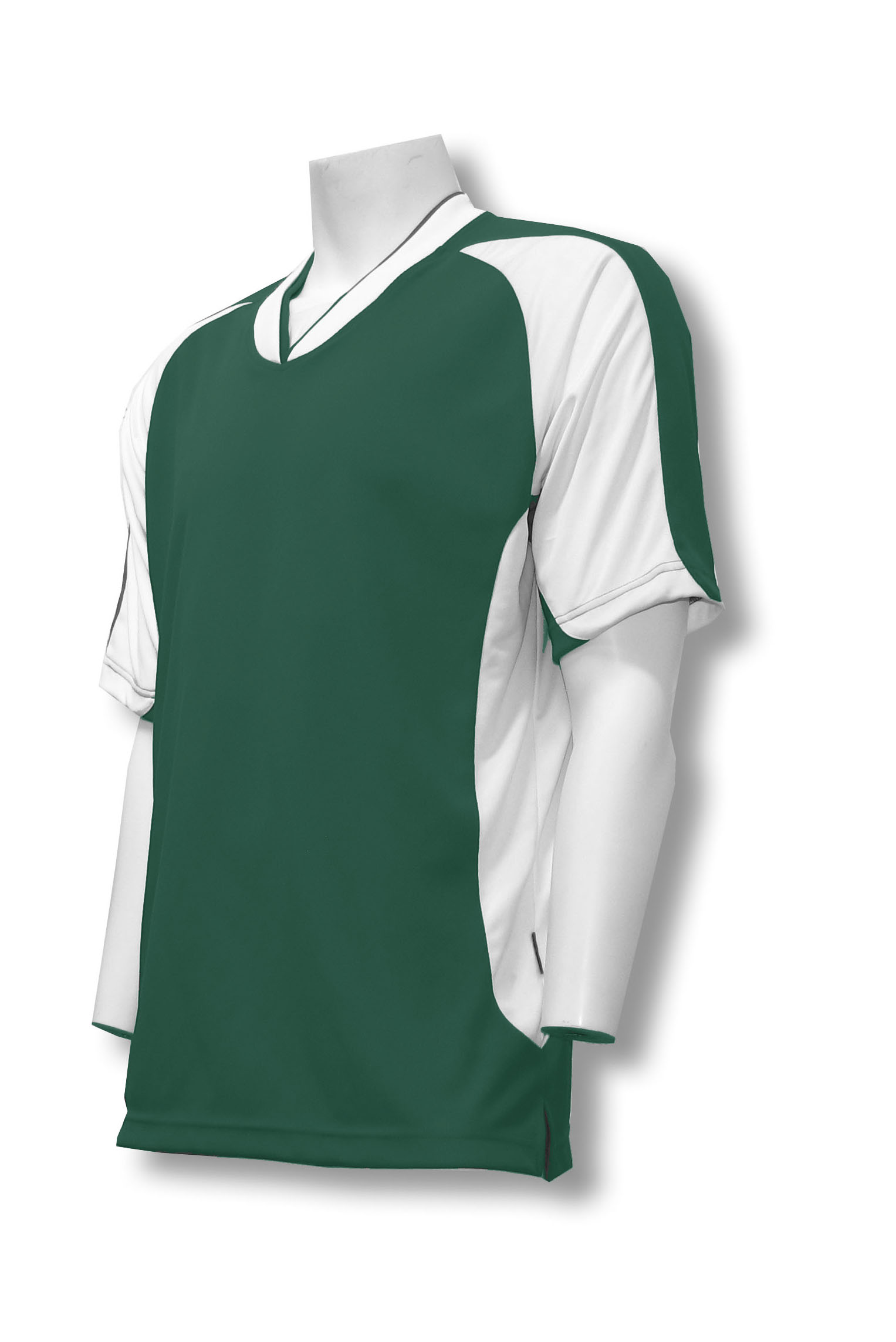 Sweeper / Falcon soccer jersey in forest by Code Four Athletics