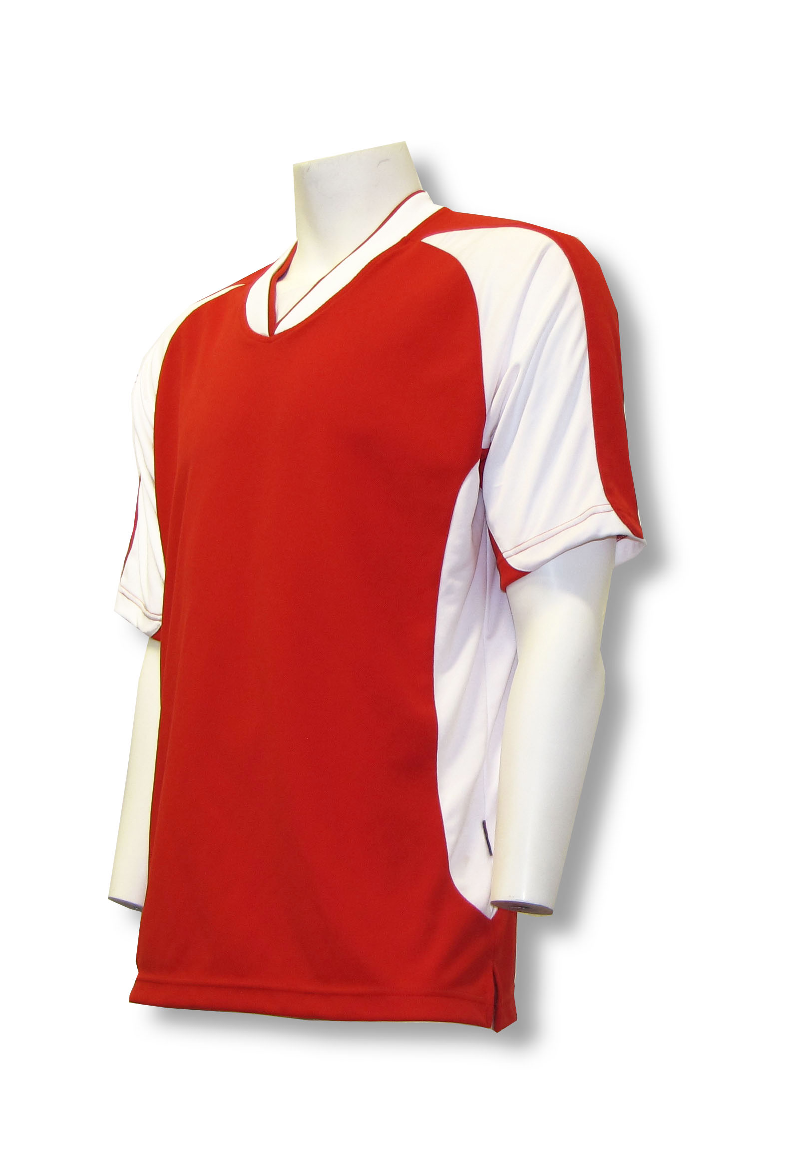 Sweeper / Falcon soccer jersey in red by Code Four Athletics