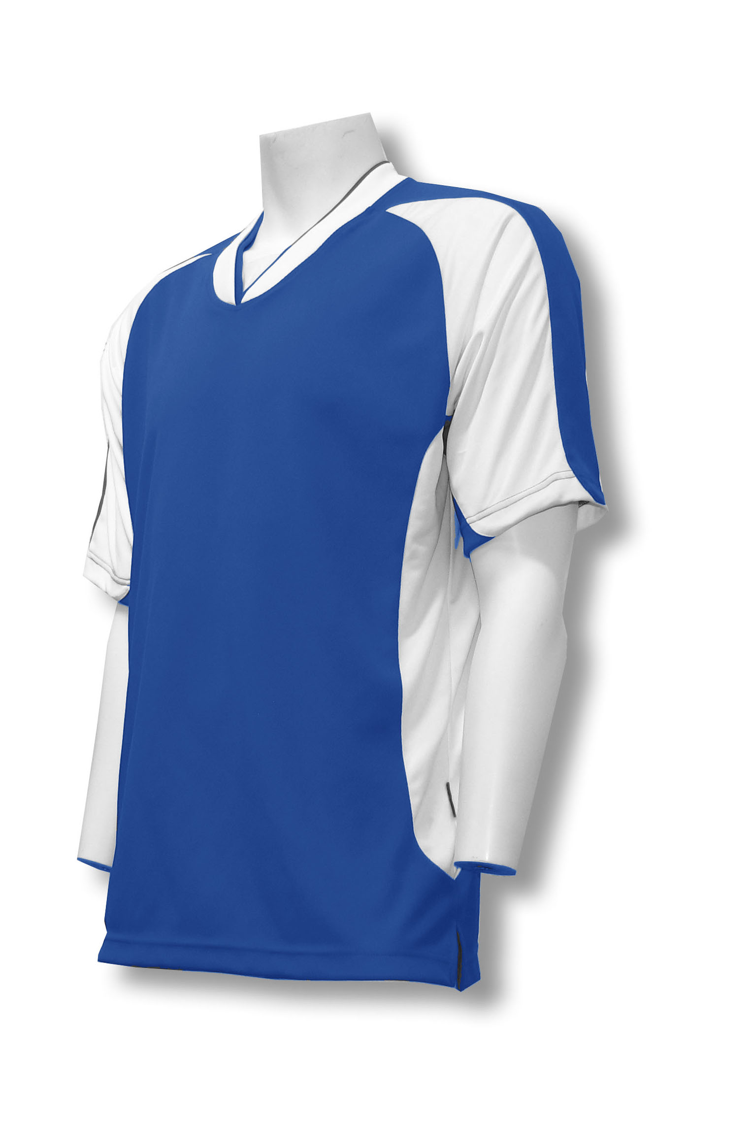 Sweeper / Falcon soccer jersey in royal by Code Four Athletics