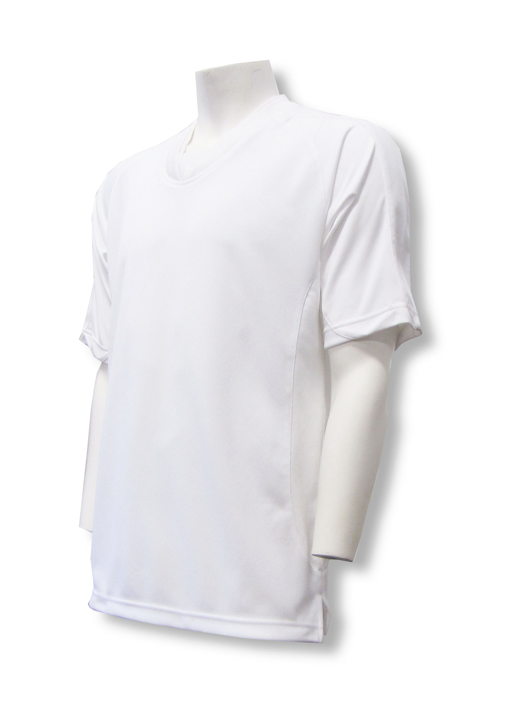 Sweeper / Falcon soccer jersey in white by Code Four Athletics