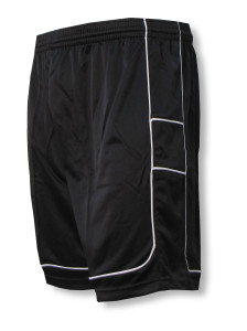 Galaxy soccer shorts in black