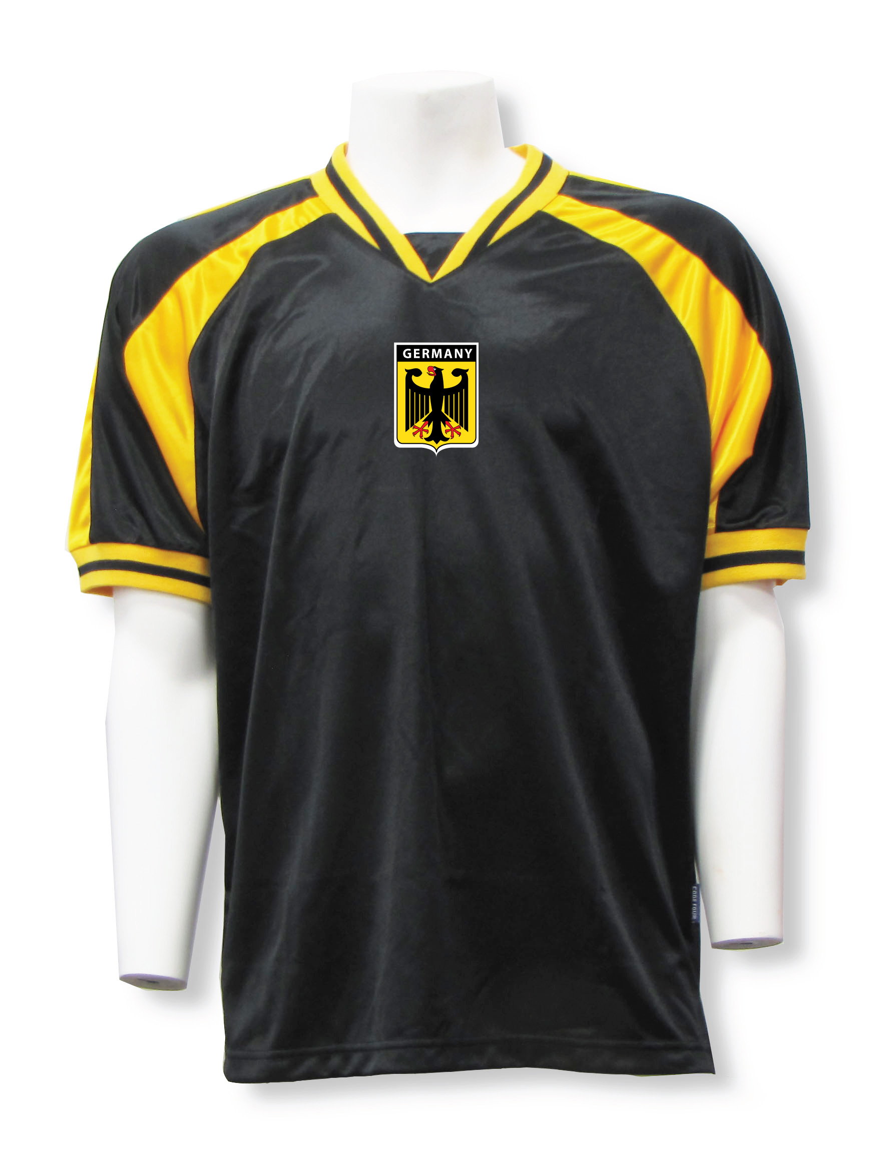 Germany jersey in black/gold