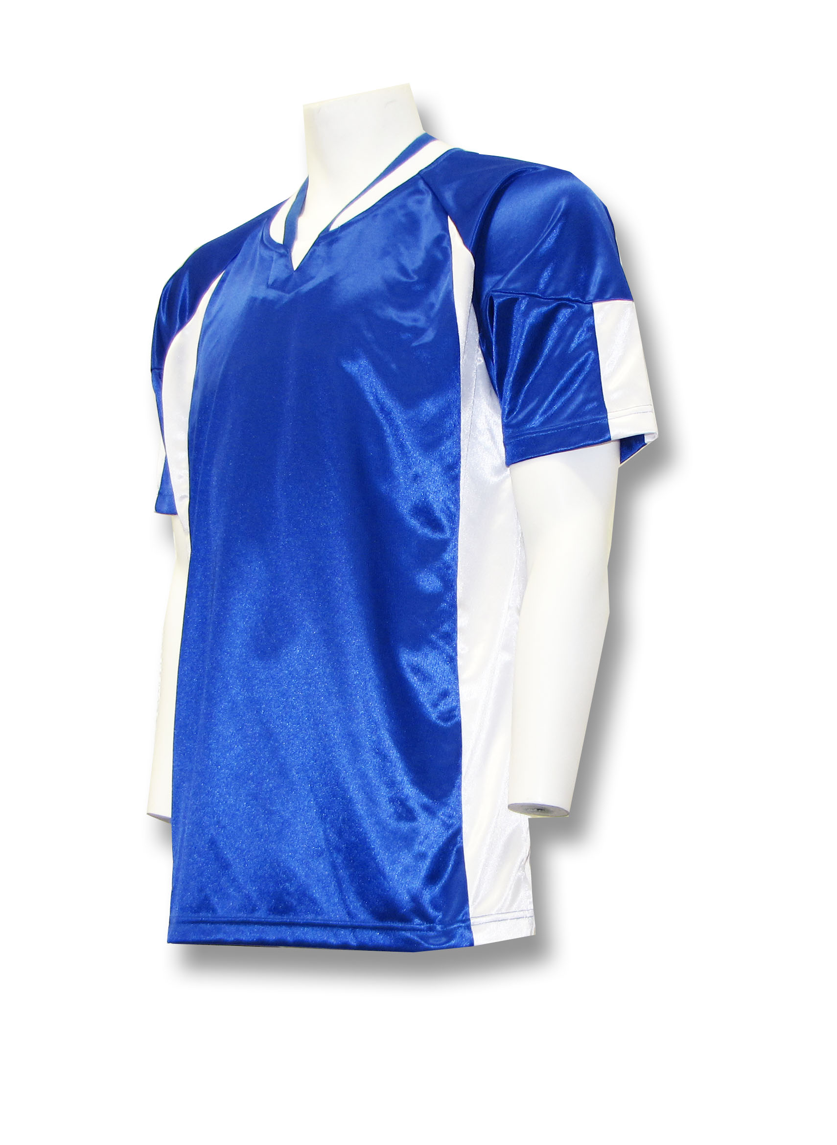 Imperial jersey in royal/white by Code Four Athletics