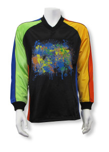 long sleeve keeper jersey Blast by Code Four