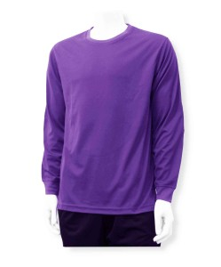 Long Sleeve keeper jersey in purple by Code Four Athletics