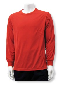Long Sleeve goalkeeper jersey in red by Code Four Athletics