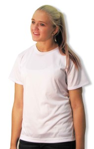 LiteTech women's moisture-wicking workout top by Code Four Athletics