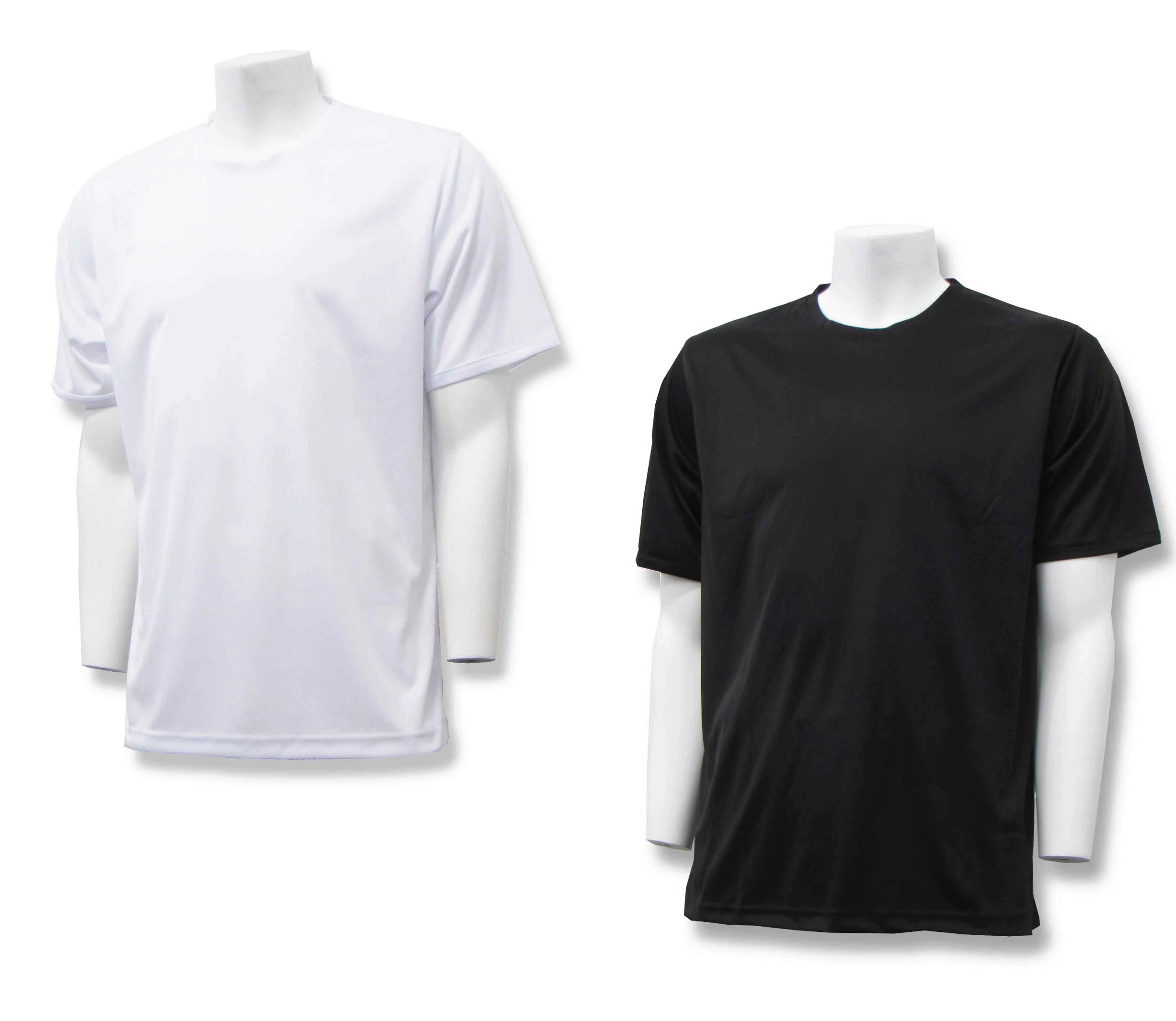 LiteTech workout and training shirts in black and white by Code Four Athletics