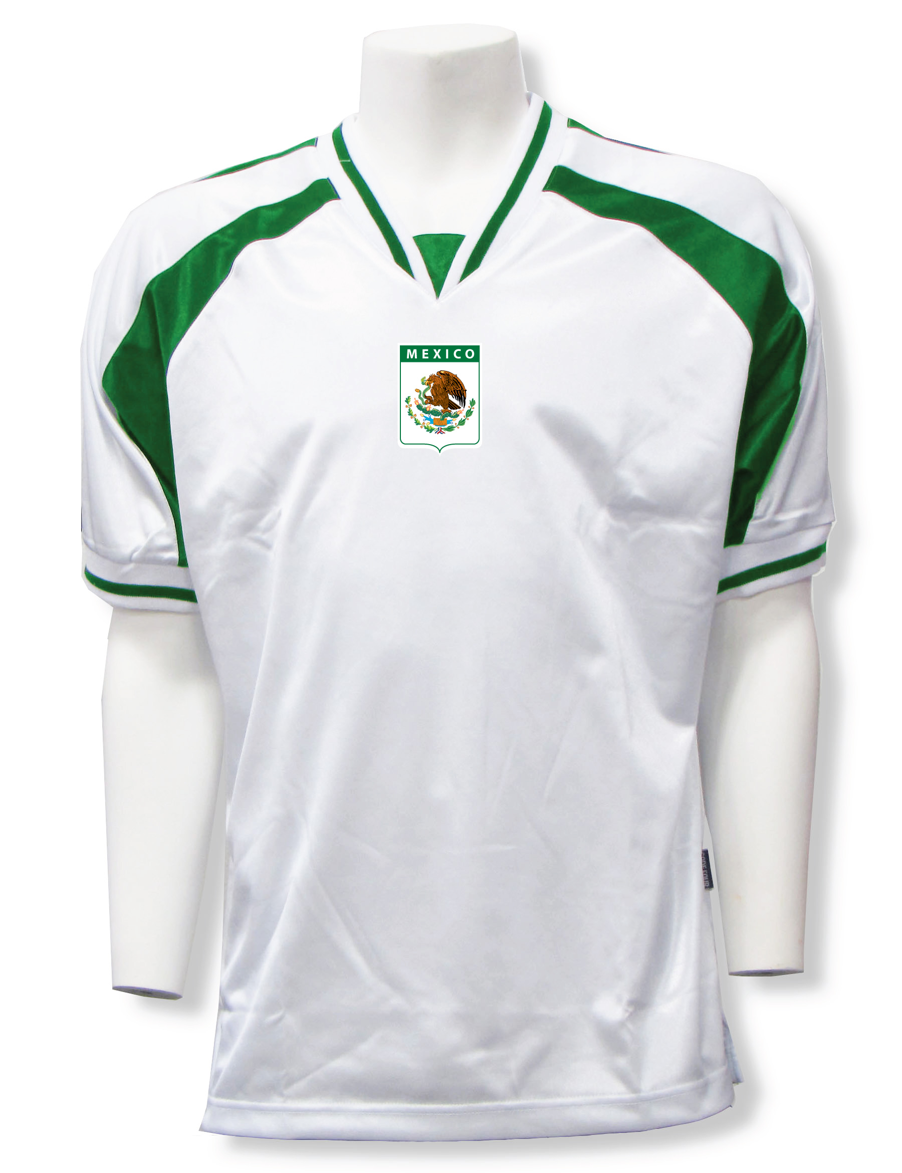 Mexico soccer jersey in white/forest Spitfire