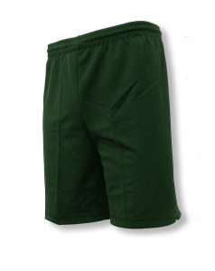 Unpdadded keeper shorts in forest