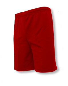 Unpadded keeper shorts in red