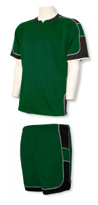Nova-Galaxy soccer uniform kit in forest by Code Four Athletics