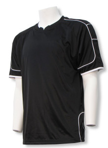 Nova soccer jersey in black