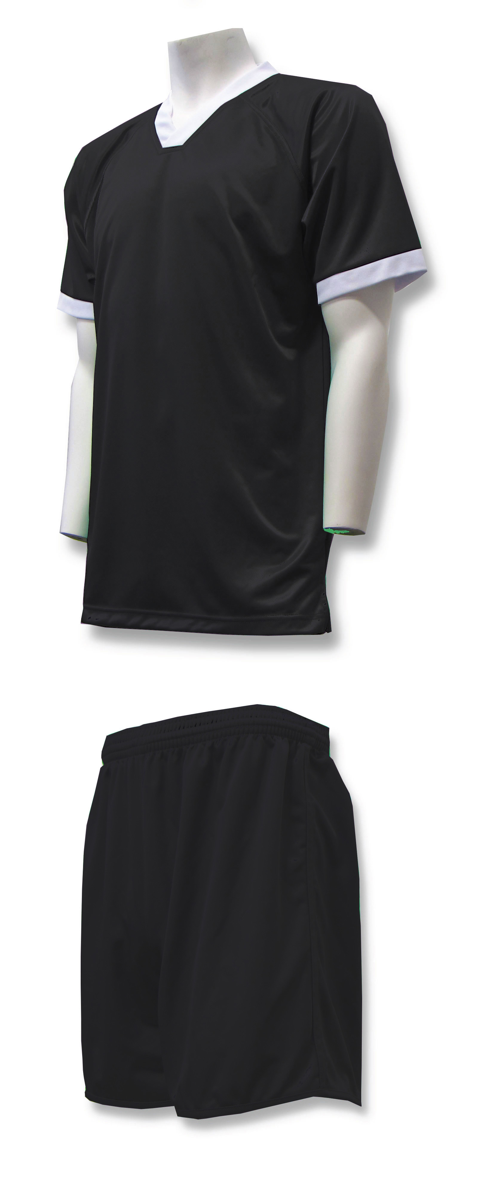 Forza soccer uniform kit in black by Code Four Athletics