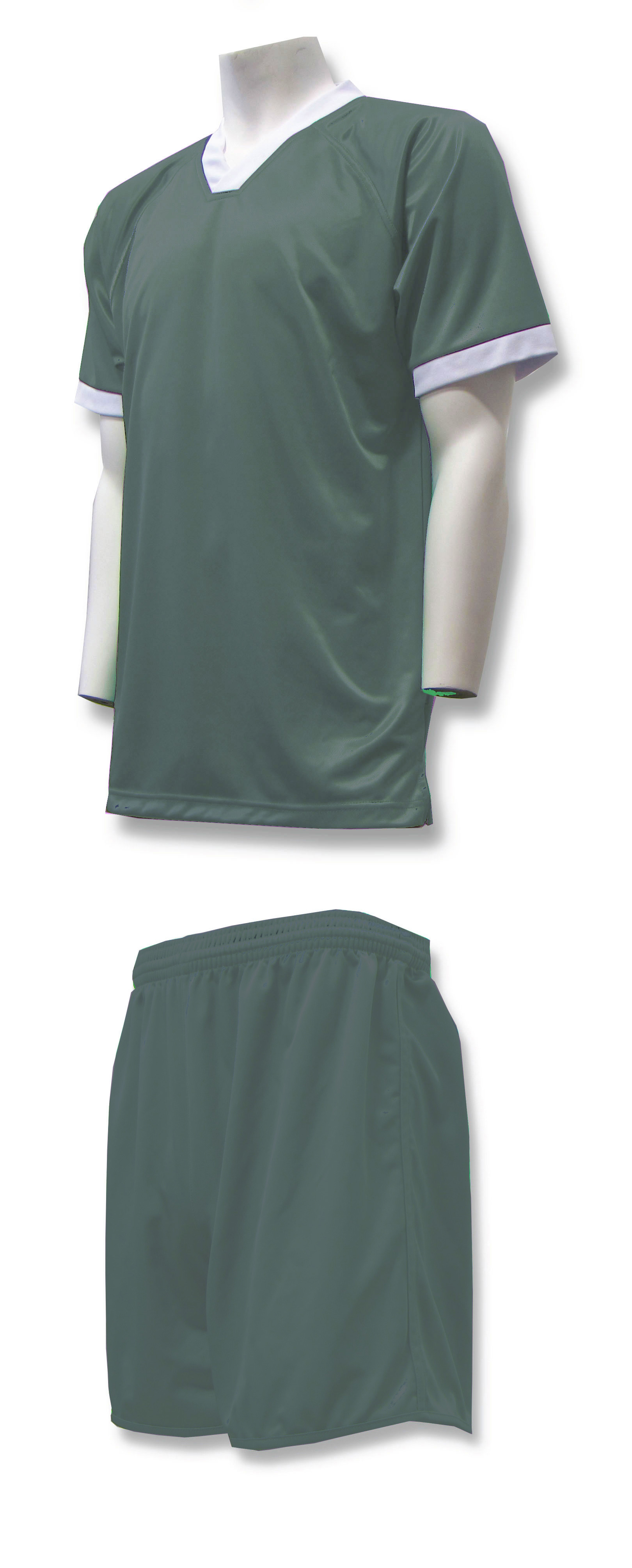 Forza soccer uniform kit in forest by Code Four Athletics