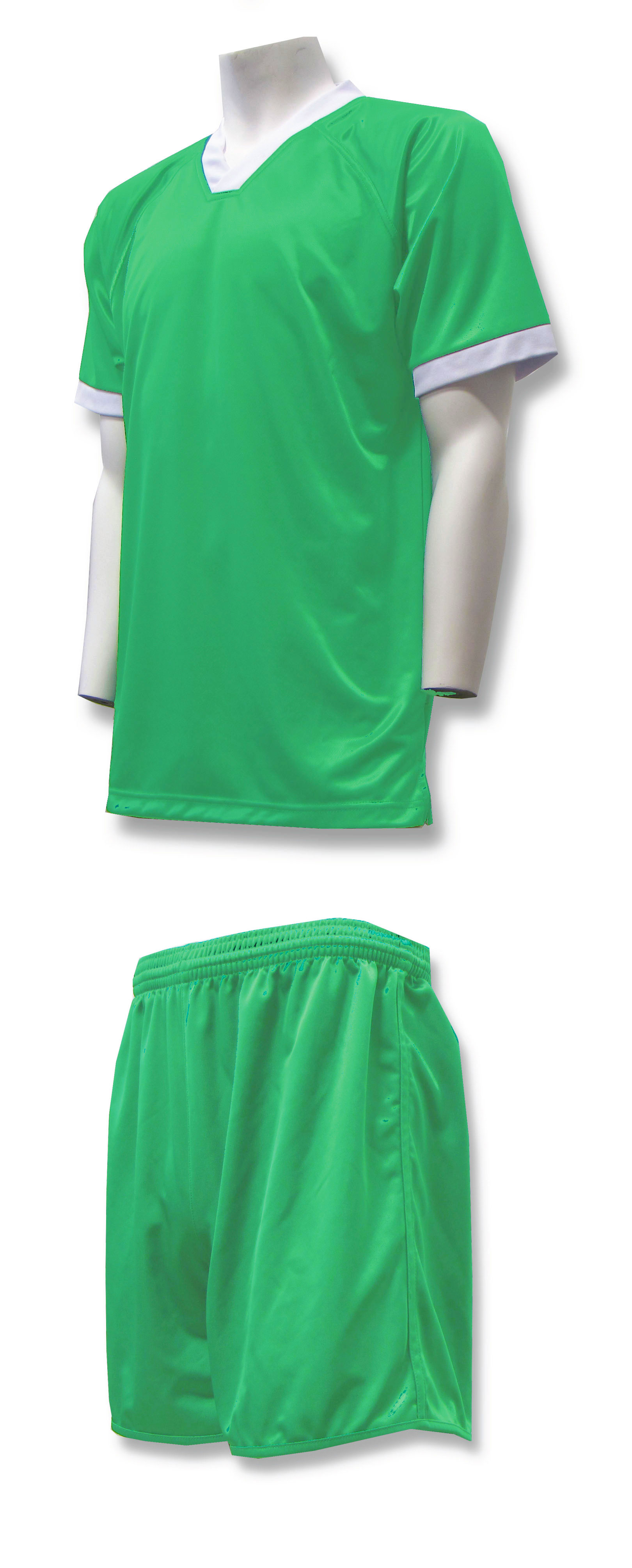 Forza soccer uniform kit in kelly by Code Four Athletics