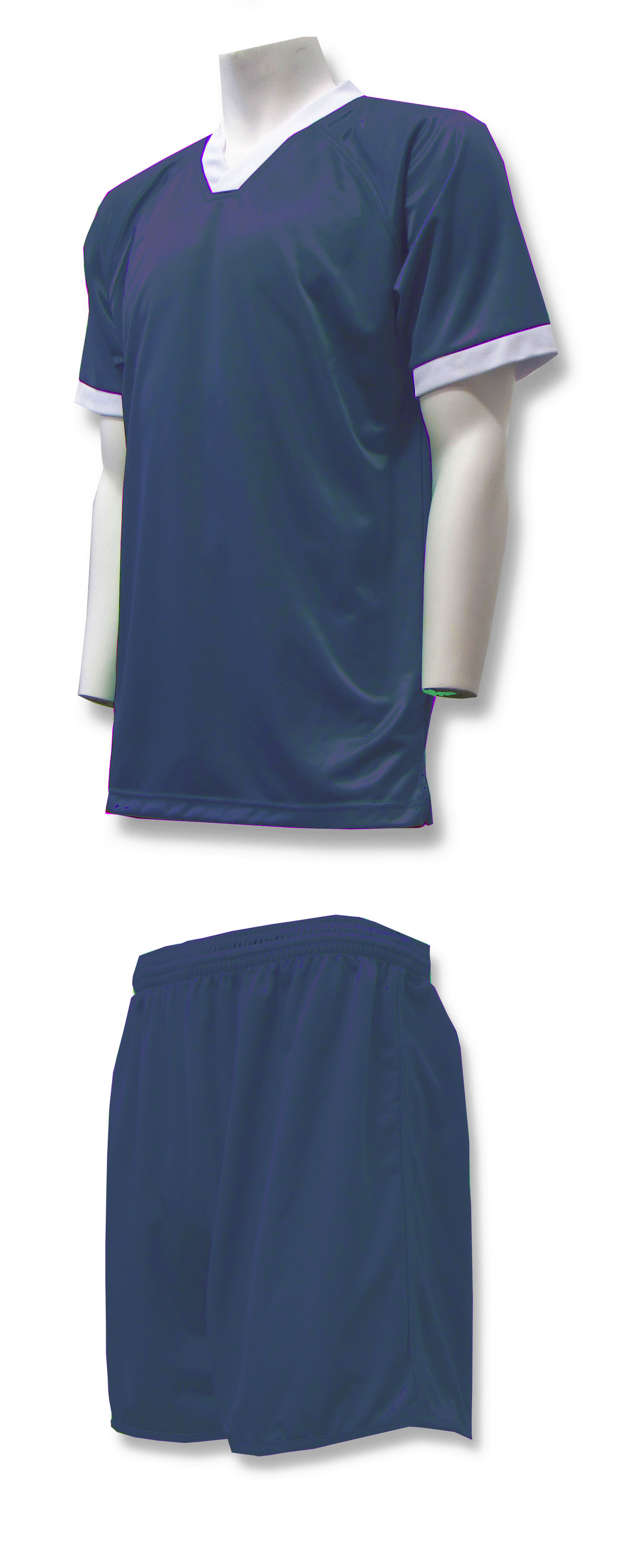 Forza soccer uniform kit in navy by Code Four Athletics