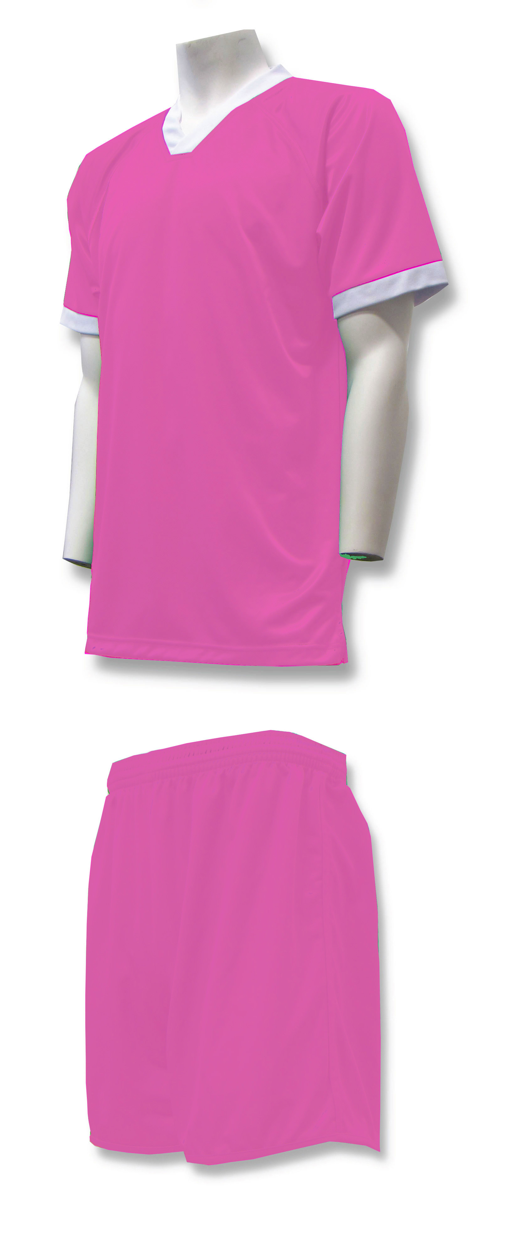 Forza soccer uniform kit in pink by Code Four Athletics