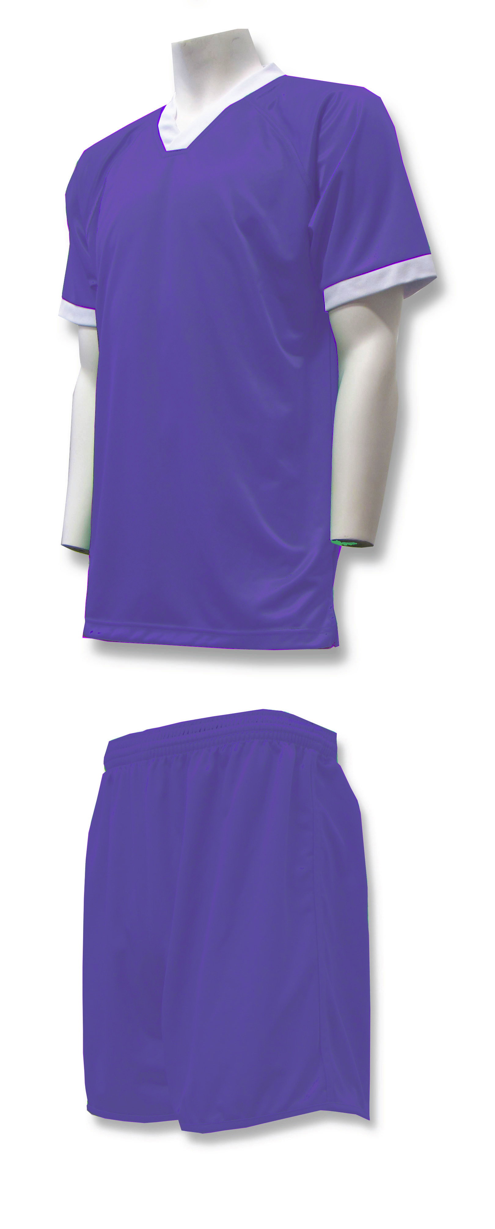 Forza soccer uniform kit in purple by Code Four Athletics