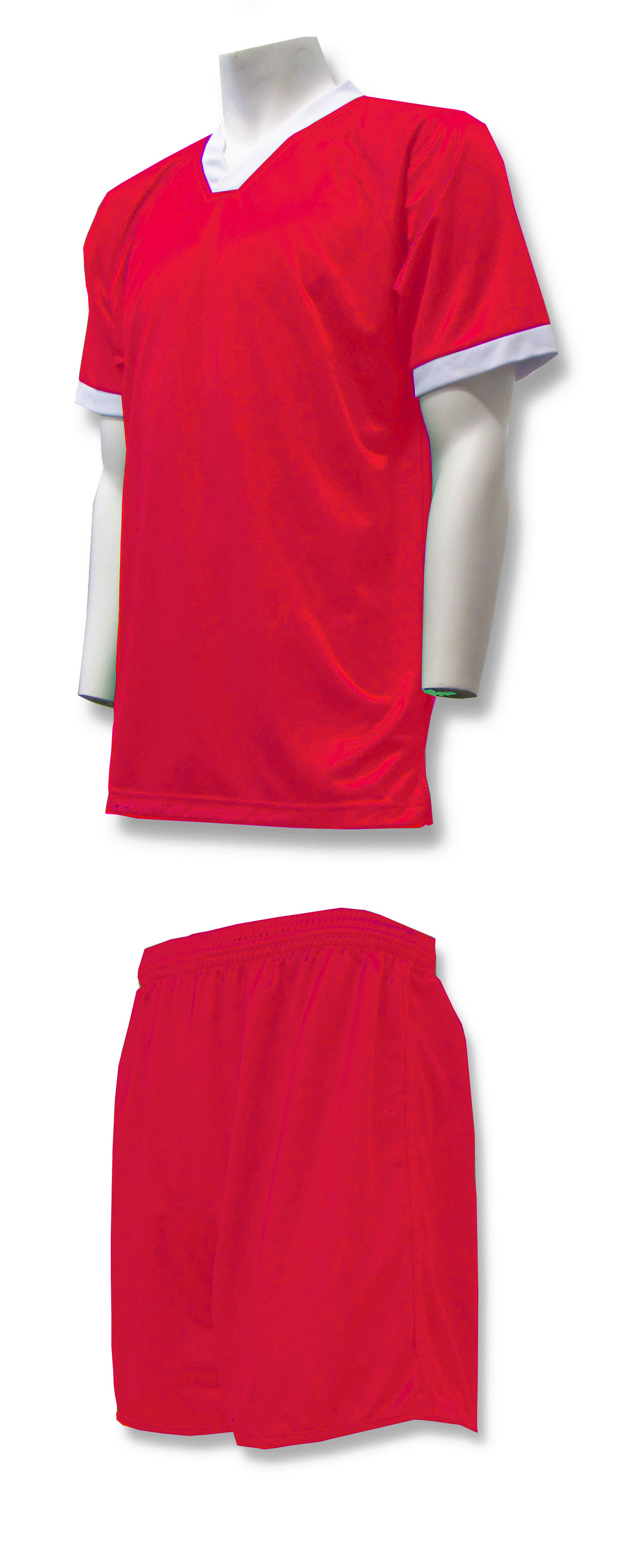 Forza soccer uniform kit in red by Code Four Athletics
