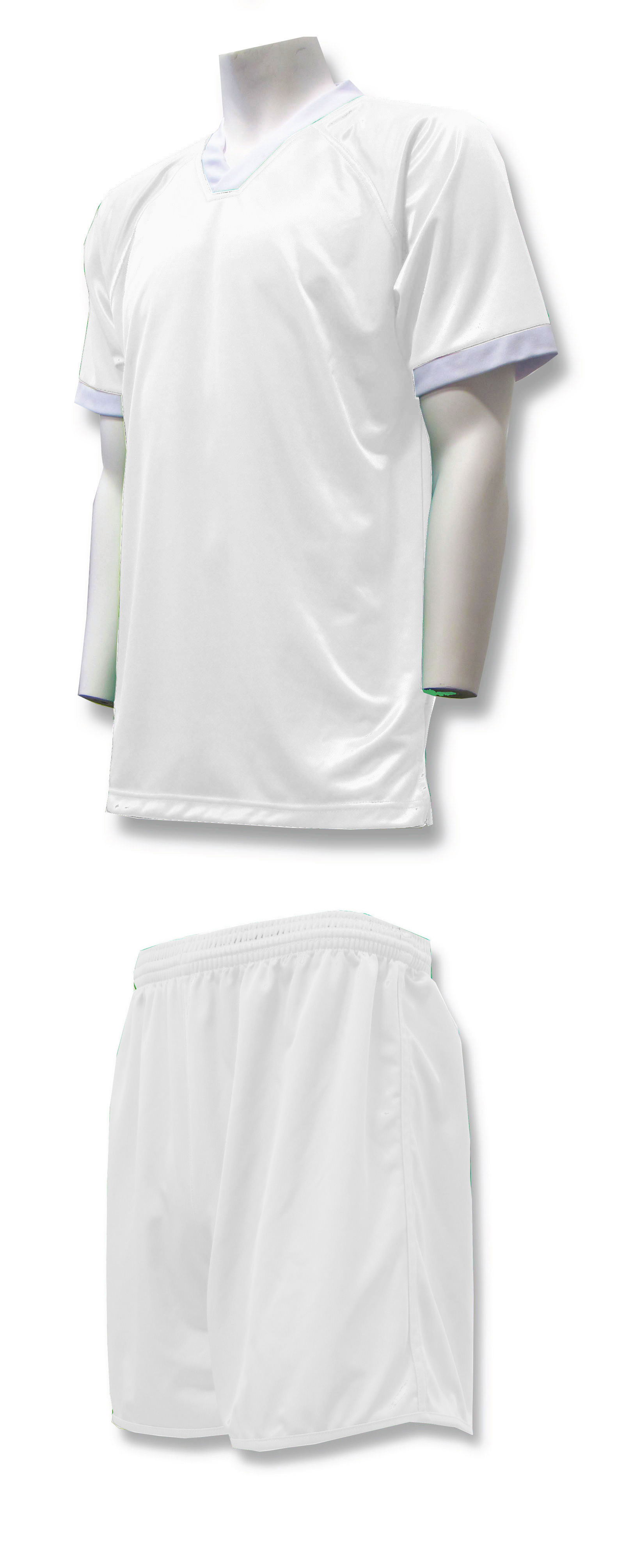 Forza soccer uniform kit in white by Code Four Athletics