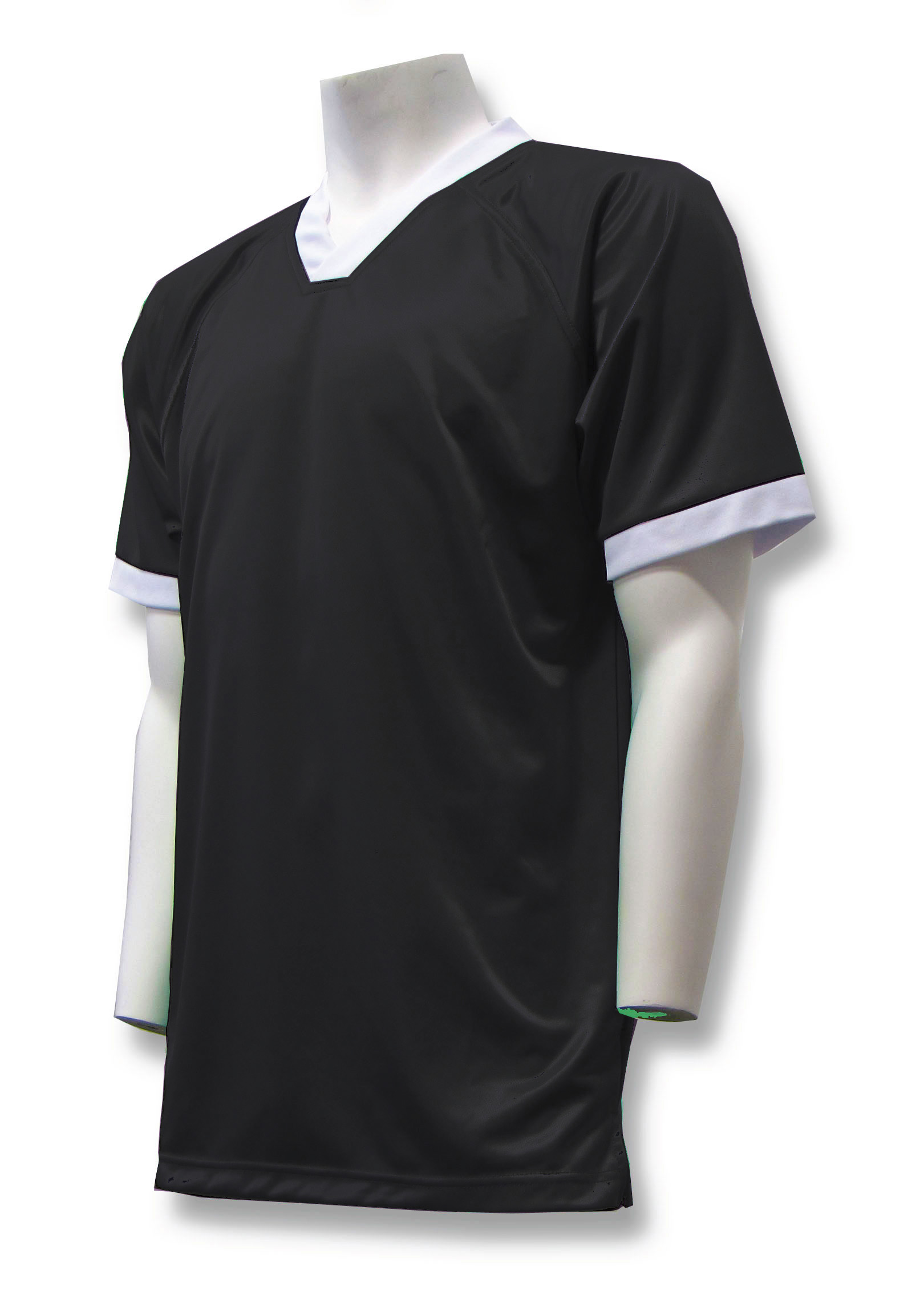Pioneer soccer jersey in black by Code Four Athletics