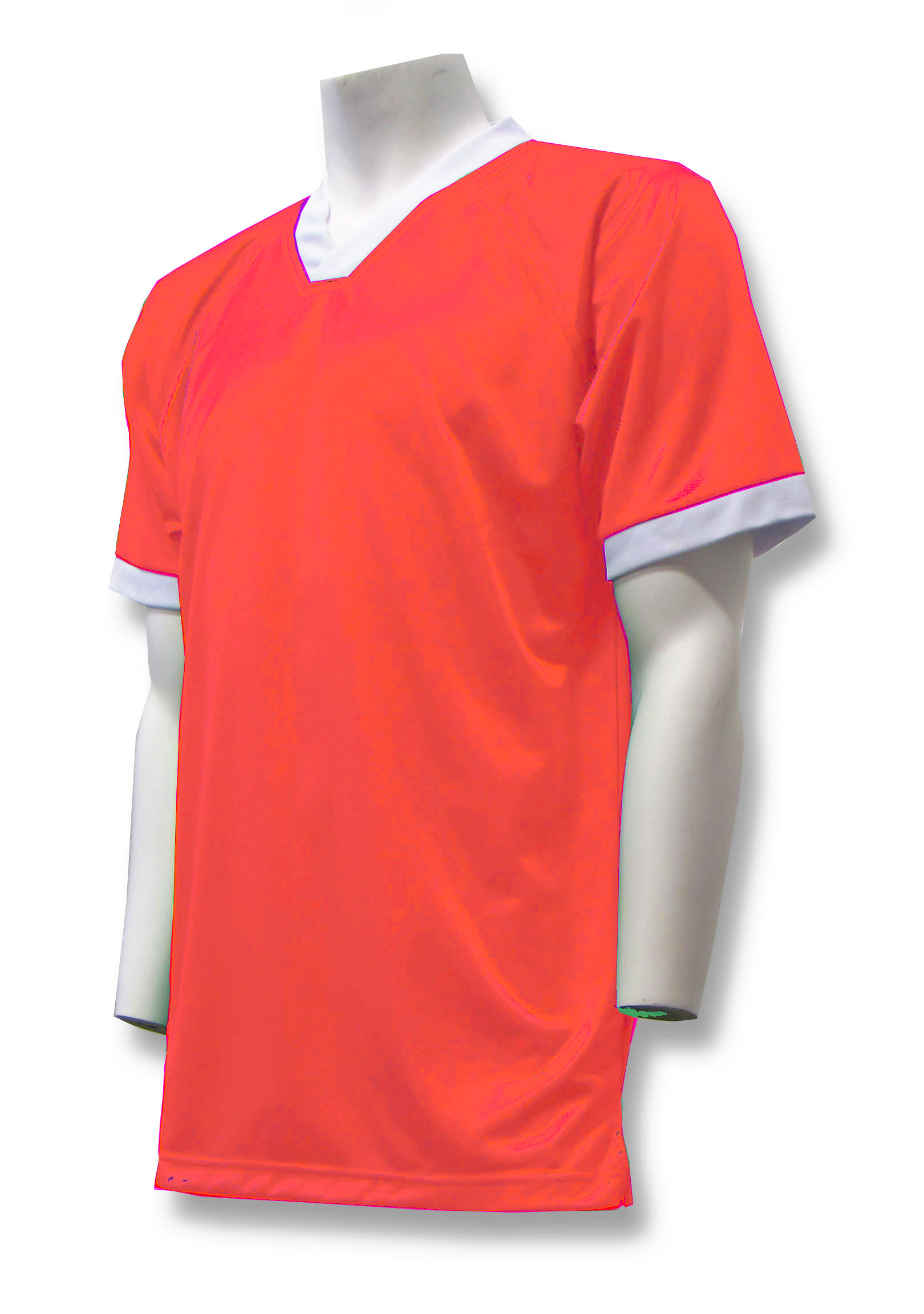Pioneer soccer jersey in orange by Code Four Athletics