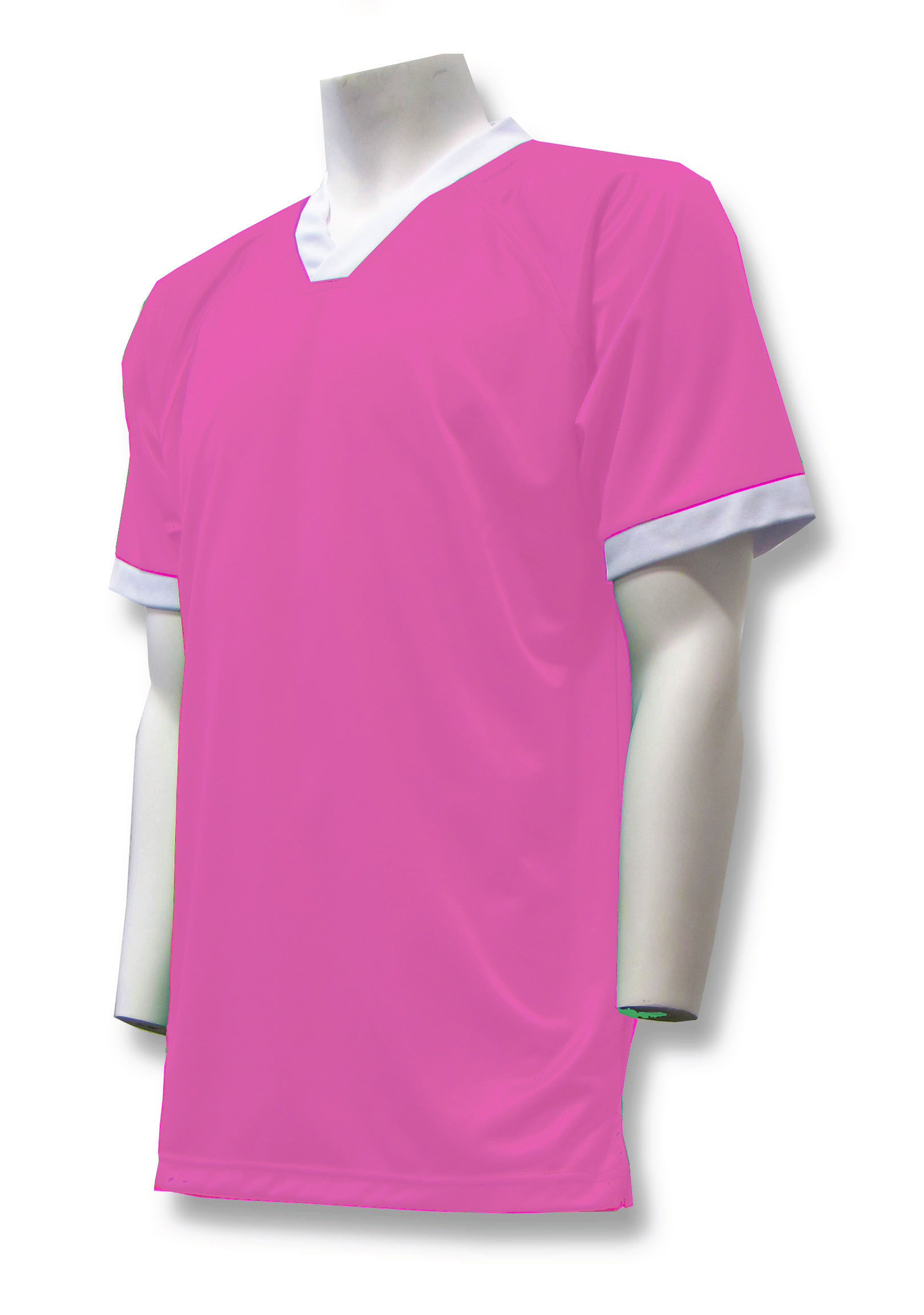 Pioneer soccer jersey in pink by Code Four Athletics