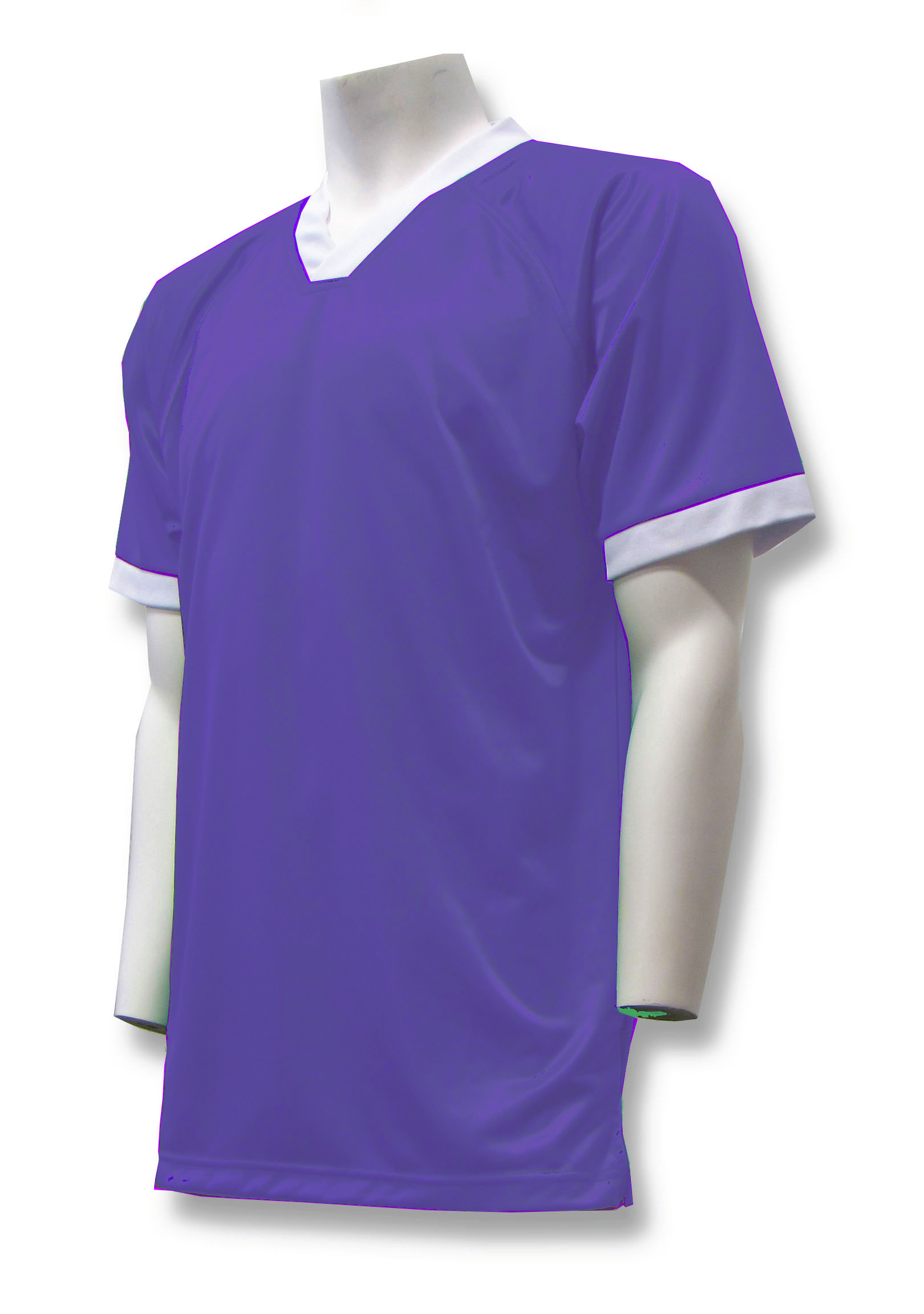 Pioneer soccer jersey in purple by Code Four Athletics